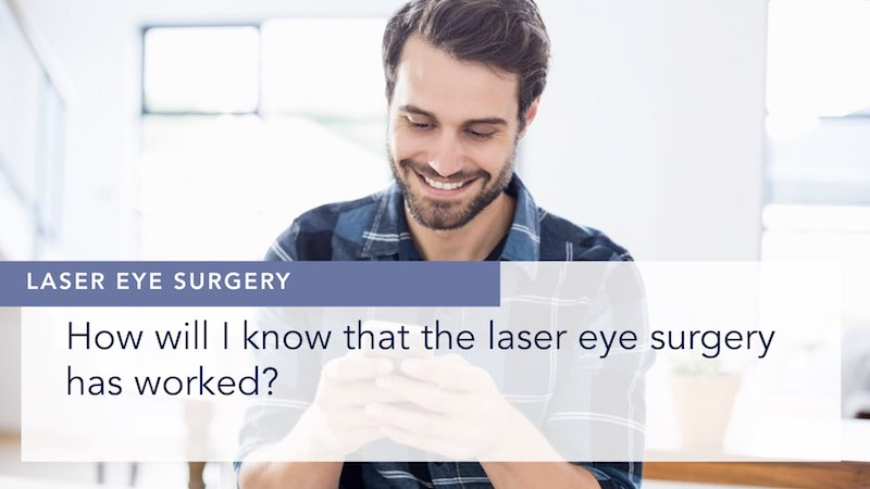 How will I know that the laser eye surgery has worked? Alex Shortt Thumbnail