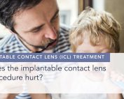 Does the implantable contact lens procedure hurt alex shortt london